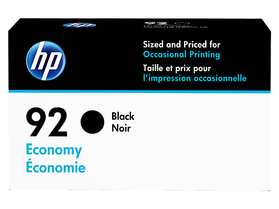 HP 92 Economy Black Original Ink Cartridge