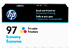HP 97 Economy Tri-color Original Ink Cartridge