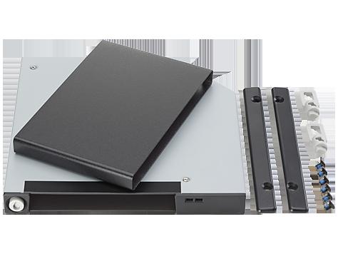 HP 超薄型可移除 SATA 硬碟機框架和載體