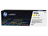 HP 312A Yellow Original LaserJet Toner Cartridge, CF382A