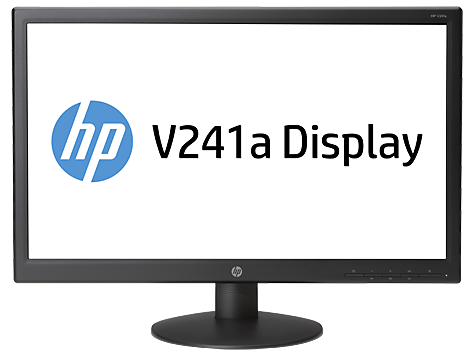 HP V241a 23.6-inch LED Backlit Monitor