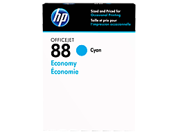 HP 88 Economy Cyan Original Ink Cartridge