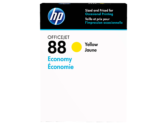 HP 88 Economy Yellow Original Ink Cartridge - Center