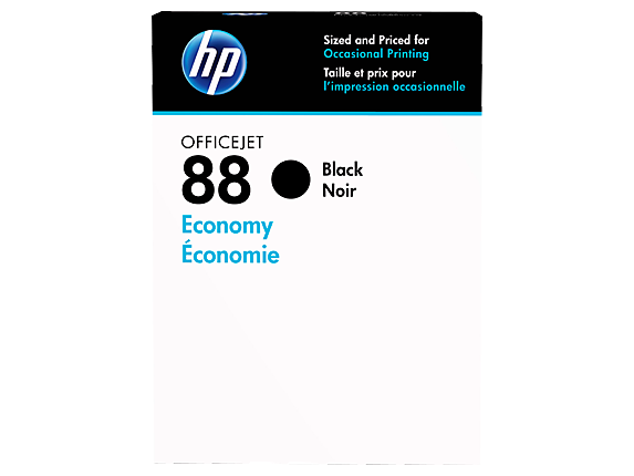 HP 88 Economy Black Original Ink Cartridge - Center