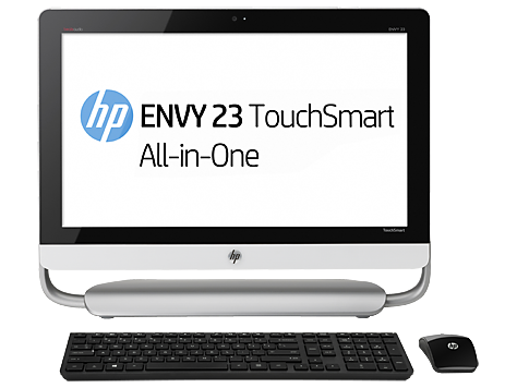 HP ENVY TouchSmart 23se-d300 All-in-One Desktop PC series