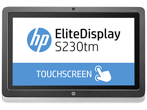 Monitor táctil HP EliteDisplay S230tm de 23 pulg.