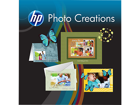 HP Photo Creations Programvara