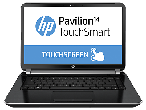 HP Pavilion Ultrabook TouchSmart 14-n000