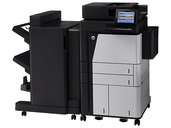 HP LaserJet Enterprise flow MFP M830z NFC/Wireless Direct - Left