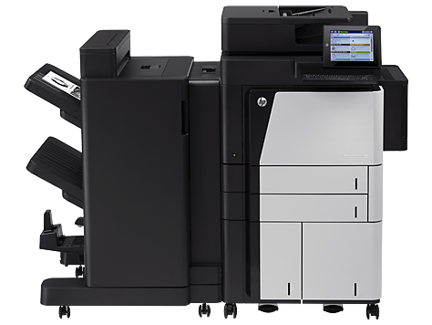 HP LaserJet Enterprise 流程 MFP M830z
