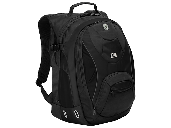 HP Sport Black Backpack - Right