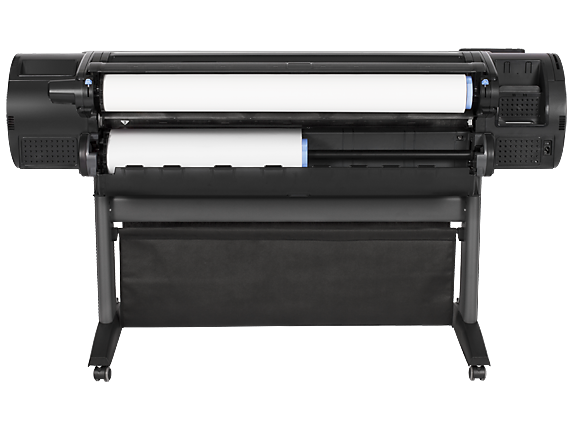 HP DesignJet Z5400 44-in PostScript Printer with Encrypted Hard Disk - Rear