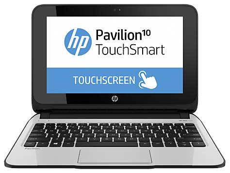Serie de PC Notebook HP Pavilion 10 TouchSmart 10-e000
