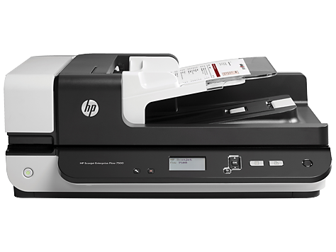 HP Scanjet Enterprise Flow 7500 平台掃描器