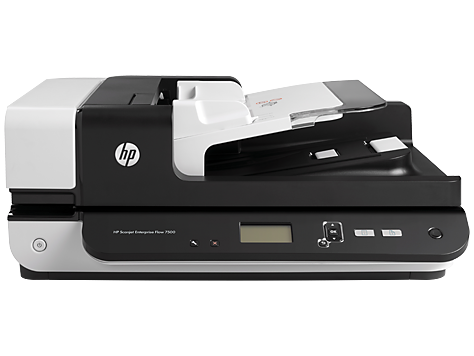 HP Scanjet Enterprise Flow 7500, flatbäddsskanner