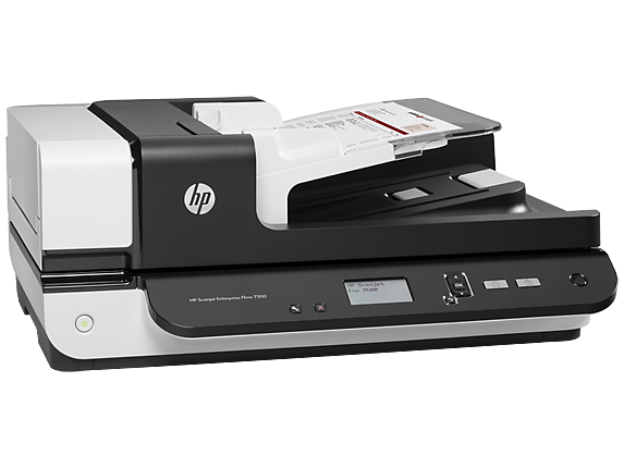 HP Scanjet Enterprise Flow 7500 Flatbed Scanner - Right