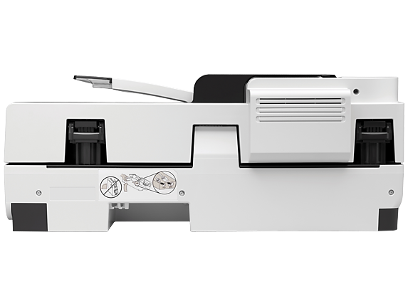 HP Scanjet Enterprise Flow 7500 Flatbed Scanner - Rear