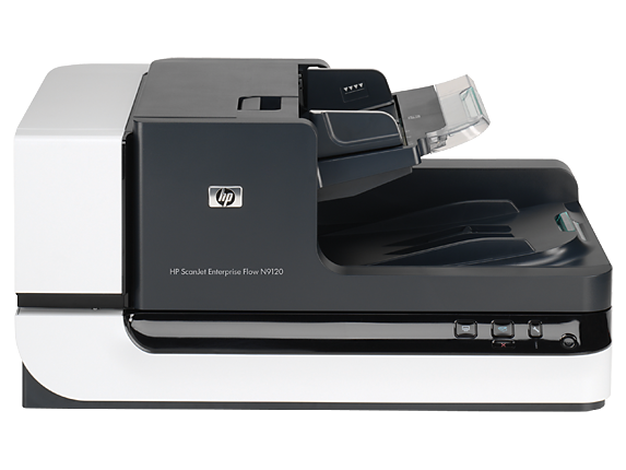 HP Scanjet Enterprise Flow N9120 Flatbed Scanner - Center