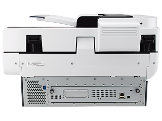 HP Digital Sender Flow 8500 fn1 Document Capture Workstation - Img_Rear_320_240