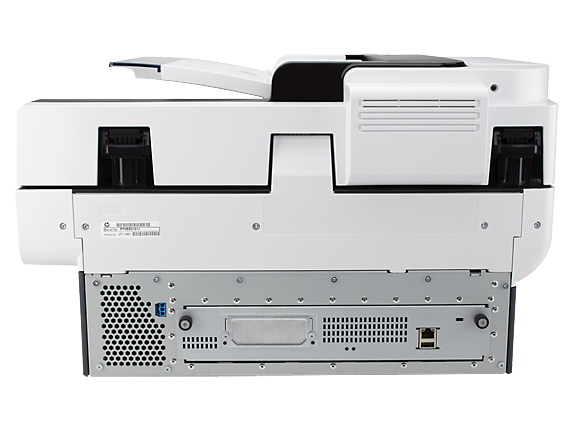 HP Digital Sender Flow 8500 fn1 Document Capture Workstation - Rear