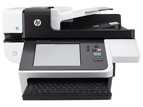 HP Digital Sender Flow 8500 fn1 Document Capture Workstation series