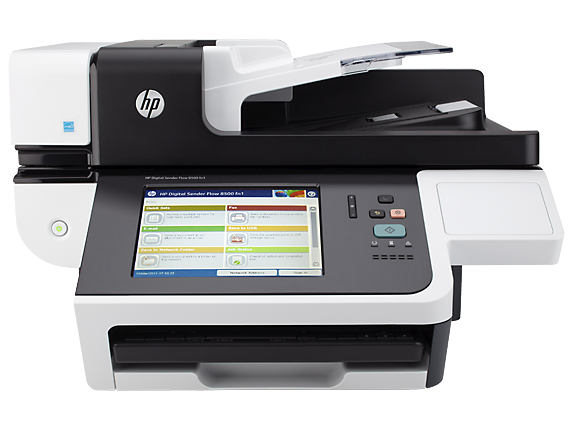 HP Digital Sender Flow 8500 fn1 Document Capture Workstation - Center