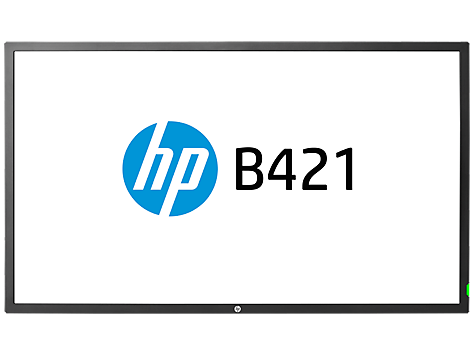 צג HP B421 LED Digital Signage, בגודל 42 אינץ'