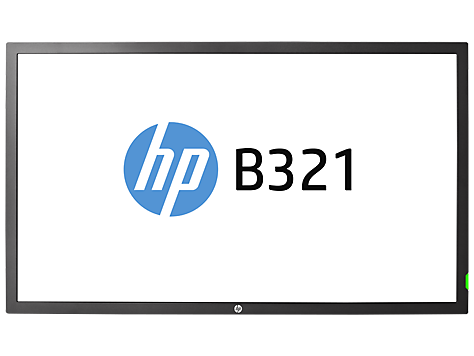 HP B321 31,5-inch LED-display met digitale aanwijzingen