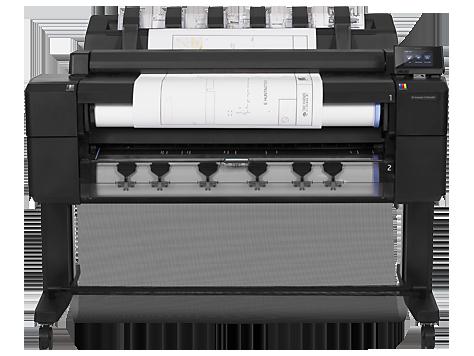 HP DesignJet T2500 Multifunktionsdruckerserie