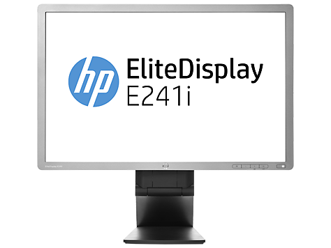 HP EliteDisplay E241i 24-in IPS LED Backlit Monitor