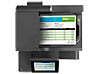 HP OfficeJet Enterprise Color MFP X585f - Top view closed