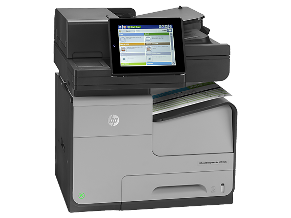 HP OfficeJet Enterprise Color MFP X585f - Right