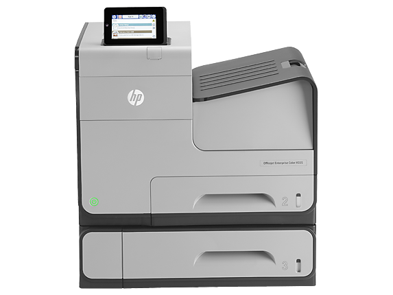 HP OfficeJet Enterprise Color X555xh - Center