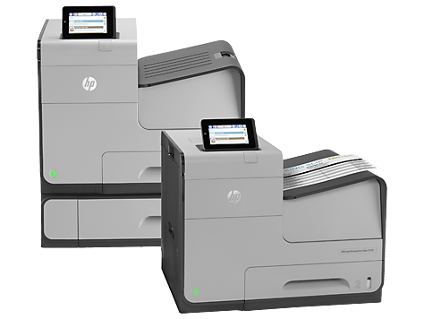 HP OfficeJet Enterprise Color X555 series