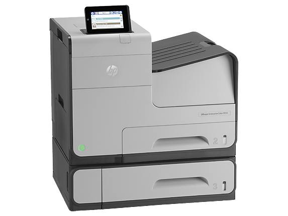 HP OfficeJet Enterprise Color X555xh - Right
