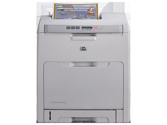 HP Color LaserJet 2700n Printer - Center