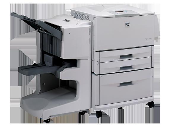 HP LaserJet 9000hnf Printer - Right