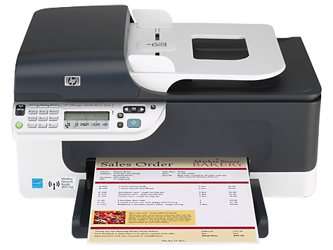 HP Officejet J4624 All-in-One Yazıcı serisi