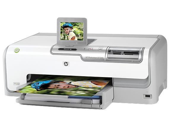 HP Photosmart D7255 Printer