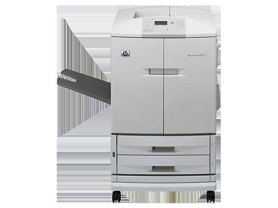 HP Color LaserJet 9500n Printer - Center