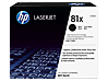 HP 81X High Yield Black Original LaserJet Toner Cartridge, CF281X - Center