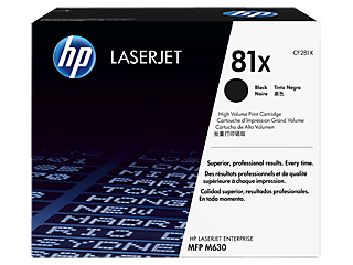 HP 81 Toner Cartridges