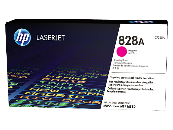 HP 828A Magenta LaserJet Image Drum, CF365A - Center