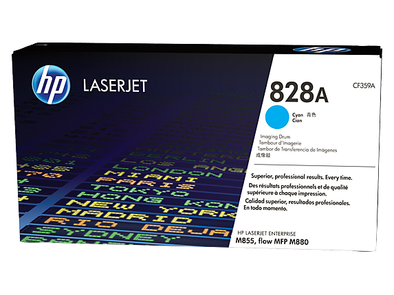 HP 828A Cyan LaserJet Image Drum, CF359A - Center
