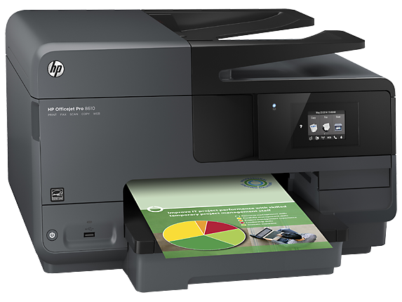 HP Officejet Pro 8610 e-All-in-One Printer - Right