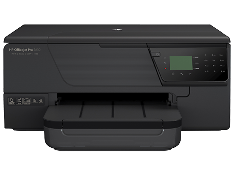 HP Officejet Pro 3610 e-All-in-One printerserie - zwart-wit