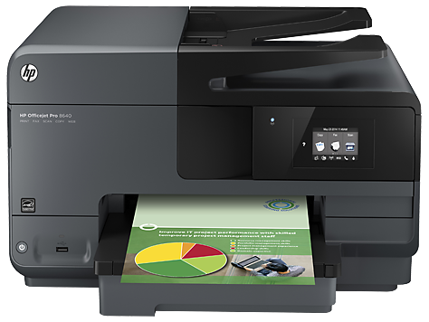 HP Officejet Pro 8640 e-All-in-One Yazıcı serisi