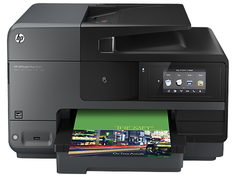 МФП серии HP Officejet Pro 8660 e-All-in-One