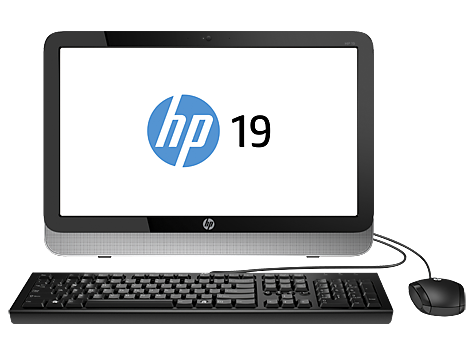 PC Desktop HP Multifuncional série 19-2400