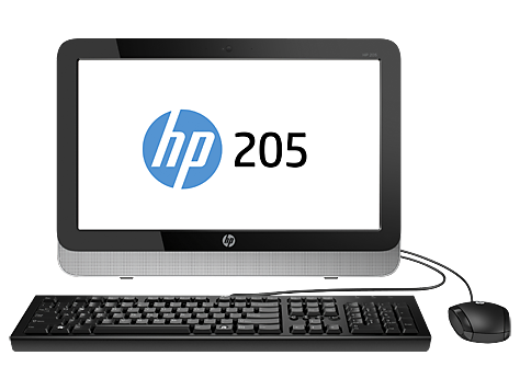 HP 205 G1 All-in-One -tietokone